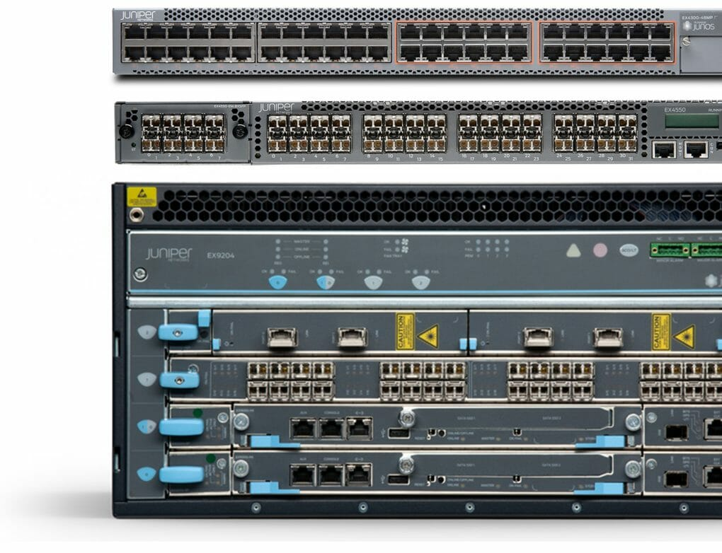 Juniper Ethernet Switches der EX-Serie