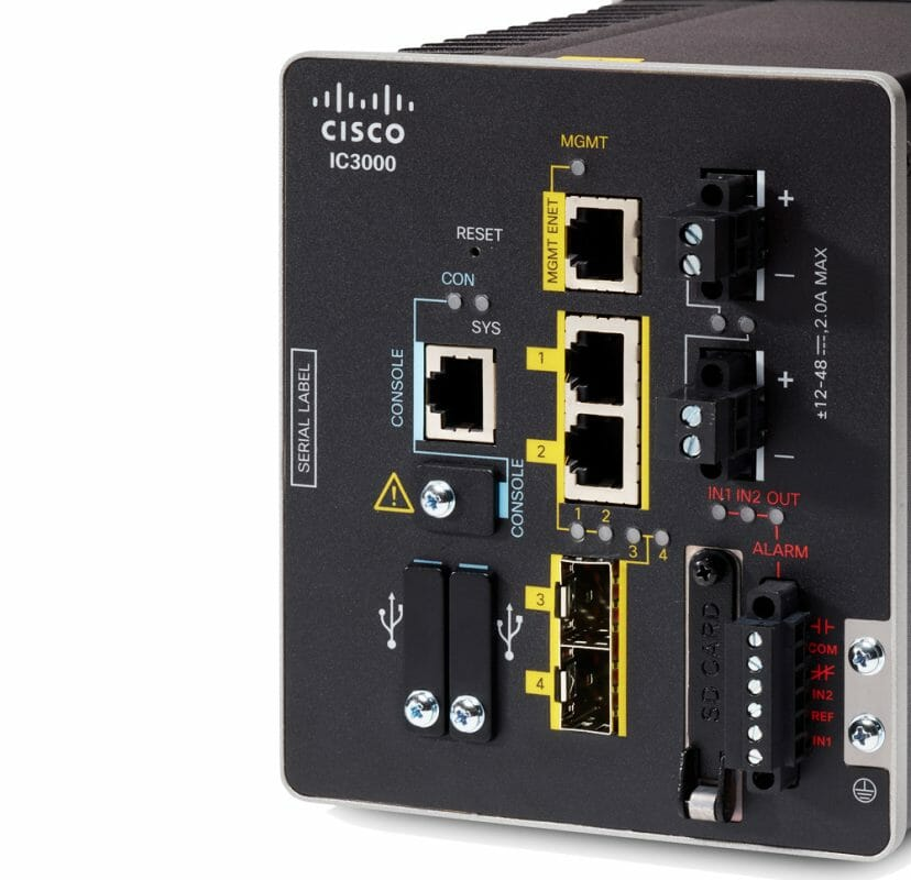 Cisco Industrial Ethernet Switches
