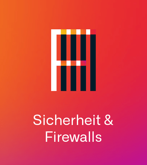 Icon Sicherheit & Firewalls Mobile