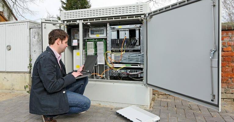 schnelles Breitband-Internet