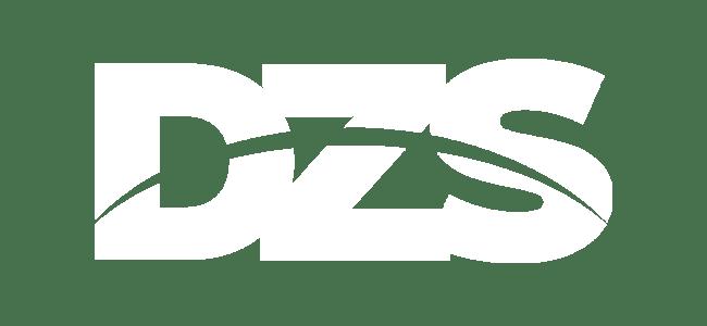 DZS Logo weiß