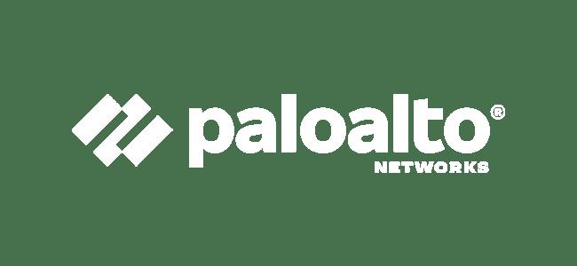 Palo Alto Networks Logo Weiß