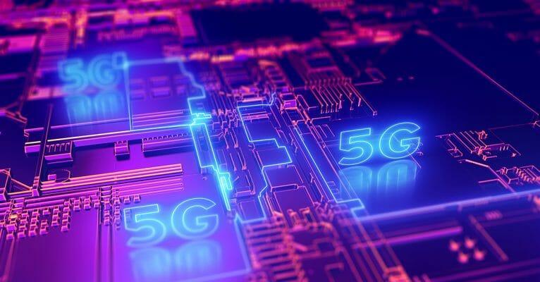 Symbolbild Blogbeitrag 5G und Industrie 4.0